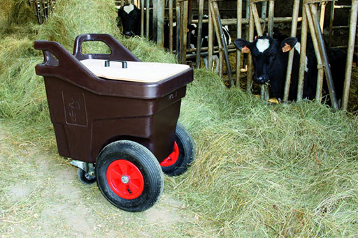Chariot alimentation agricole